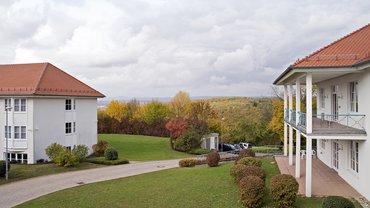 BIZ Mosbach Außenbereich Ausblick